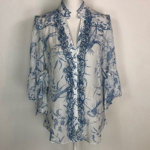 ALICE by Temperley Tops - ALICE by Temperley Seraphine printed Blouse
